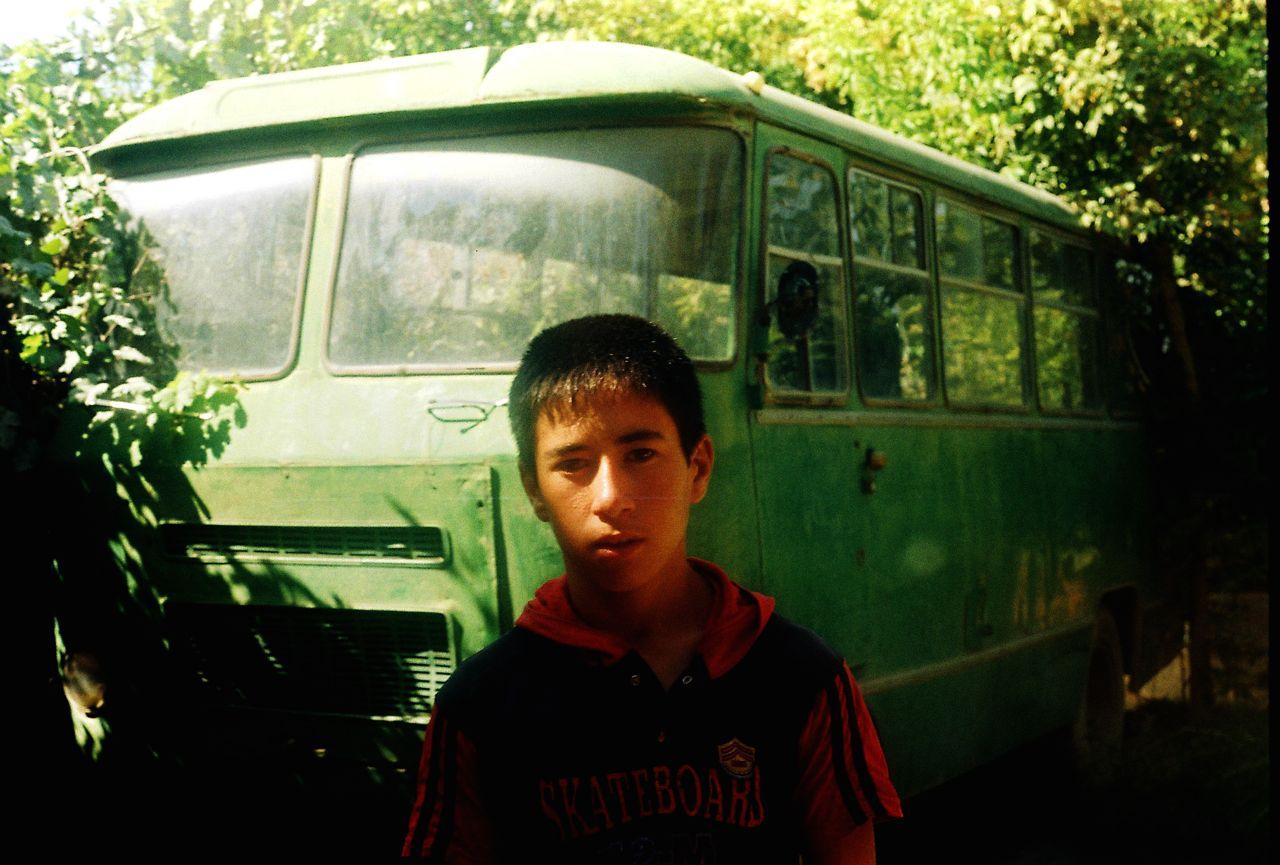 11.Yaşıl avtobus. Sədərək,Naxçıvan,