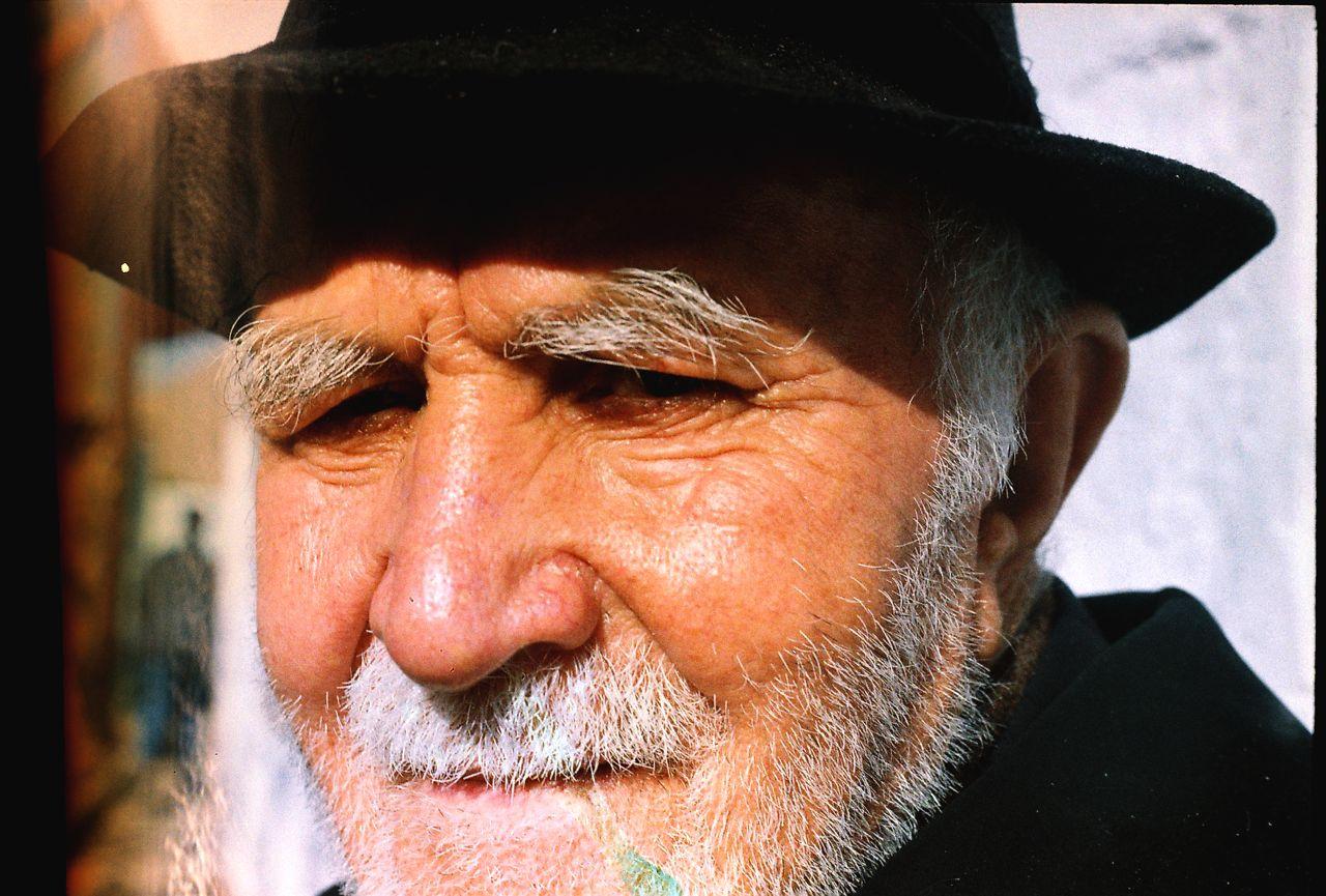 27.Ağsaqqal.Portret.Sədərək,Naxçıvan