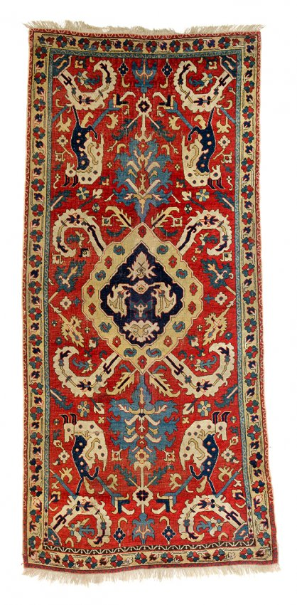 Caucasian Dragon Carpet - Austria Auction Company