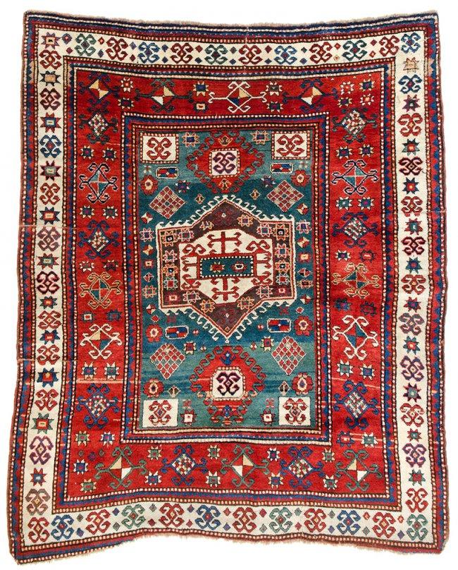 Fachralo Kazak - Sept 16, 2014 - Austria Auction Company - Caucasus ca 1870