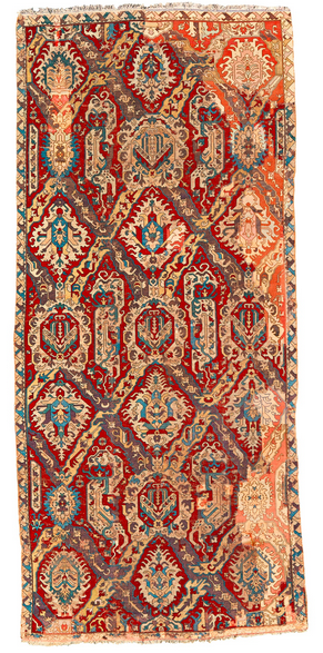 Sotheby's Oct 22 2014 NYC auction 18c Dragon carpet - Crocker Family