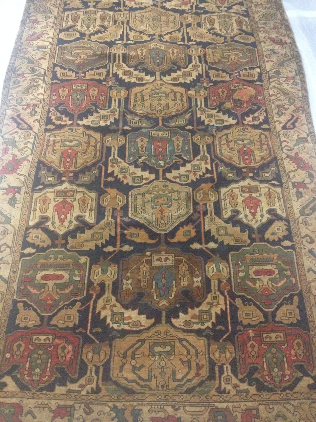 V&A Clothworkers Reserves - Shirvan rug