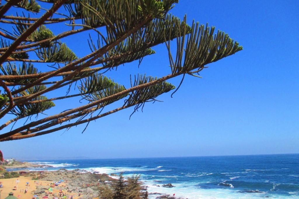Вид на Тихий океан с Исла Негра, где стоит один из домов-музеев Пабло Неруды