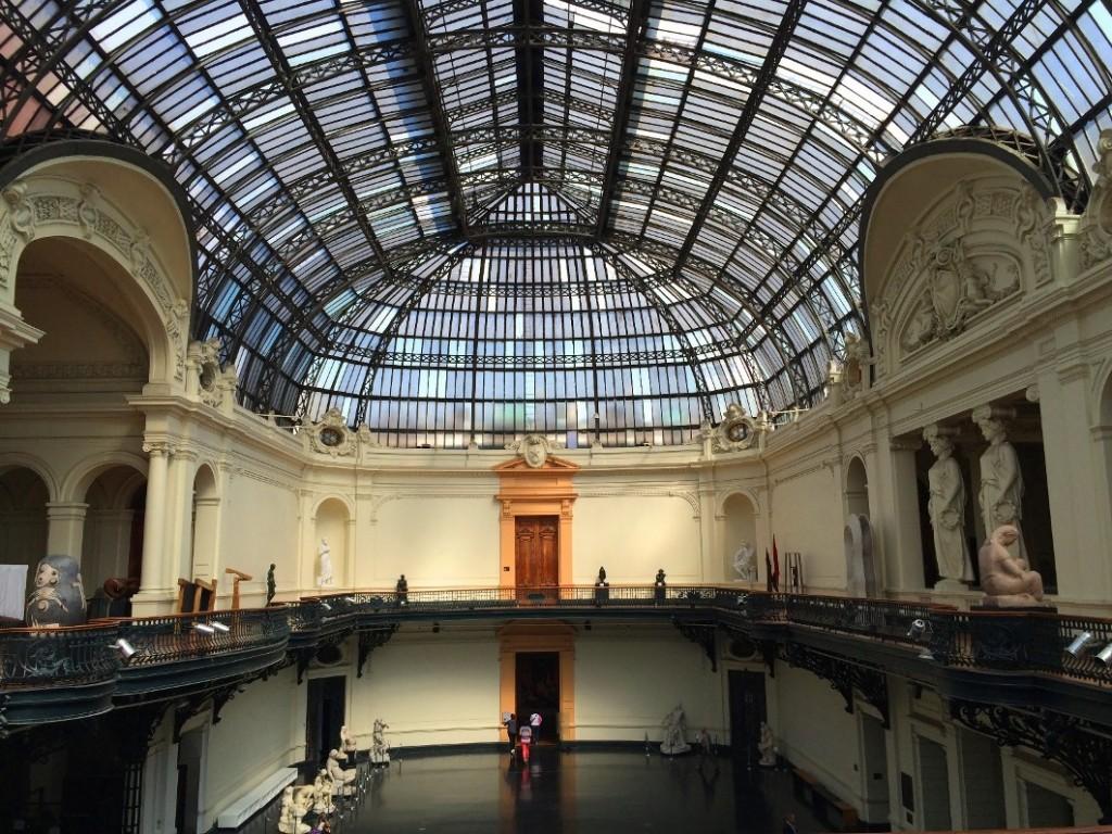 Музей Bellas Artes в Сантьяго