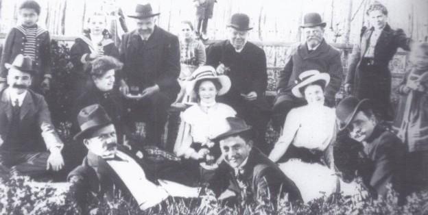 Семья Фореров 19 век
