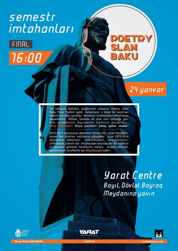 Poetry Slam Baku